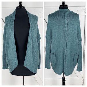 Romeo & Juliet Couture Drape Wool Blend Sweater